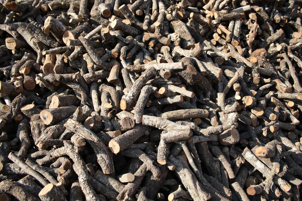 Oak firewood for stoves