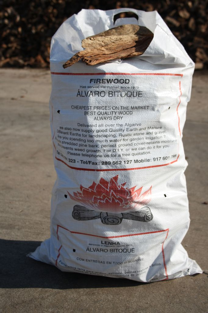 Bag - Shavings for start of fire